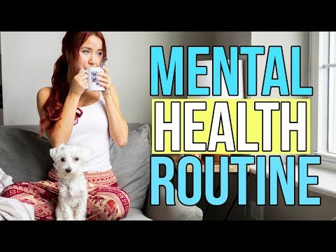 MENTAL HEALTH MORNING ROUTINE 2017 | Lindsay Marie