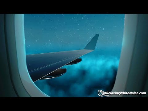 Airplane White Noise in 1st Class   Sleep, Study, Focus   10 Hour Plane Sound