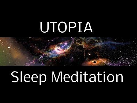 Hypnosis UTOPIA SLEEP MEDITATION: A Spoken Guided Meditation into Interstellar Worlds   deep sleep