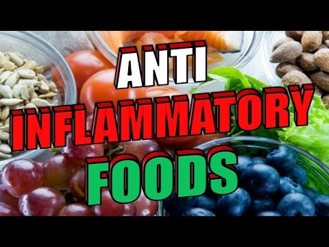 24 ANTI INFLAMMATORY FOODS with CRAZY Powerful Healings Benefits