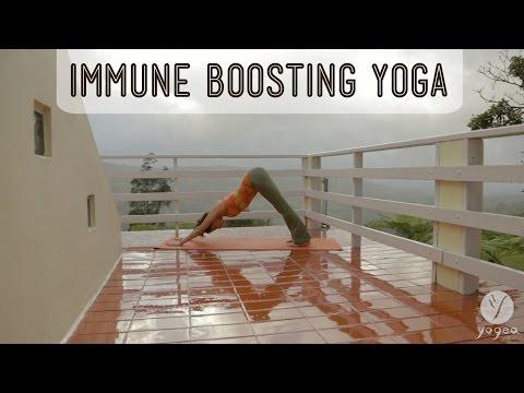 Yoga Immunity Boosting Routine: Flu-proof (open level)
