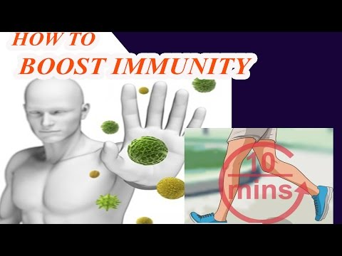 How To Boost Immunity With Exercise