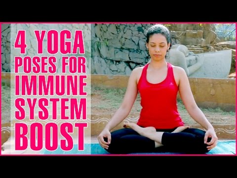 4 YOGA POSES TO IMPROVE IMMUNE SYSTEM