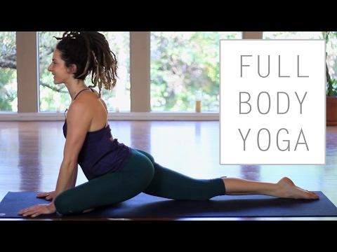30 Minute Full Body Stretches For Flexibility – Gentle Beginner Yoga Flow