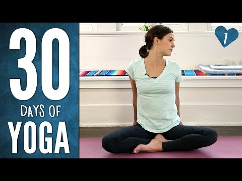 Day 1 – Ease Into It – 30 Days of Yoga