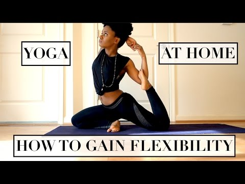 YOGA AT HOME| HOW TO GAIN FLEXIBILITY
