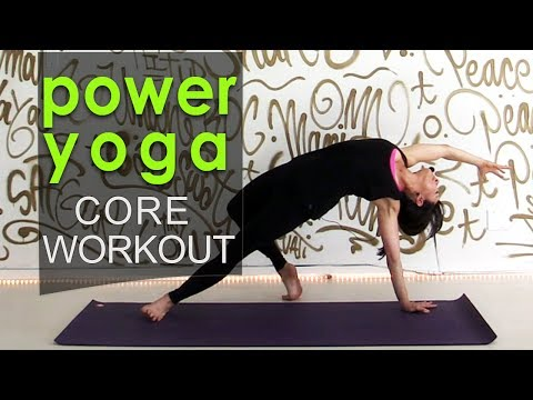 Core Strengthening Power Yoga Workout