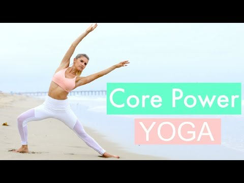Core Power Yoga – TONED ABS WORKOUT | Rebecca Louise