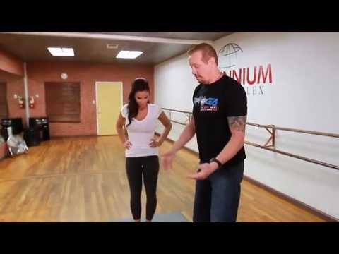 Diamond Dallas Page Teaches Crystal Marie DDP Yoga