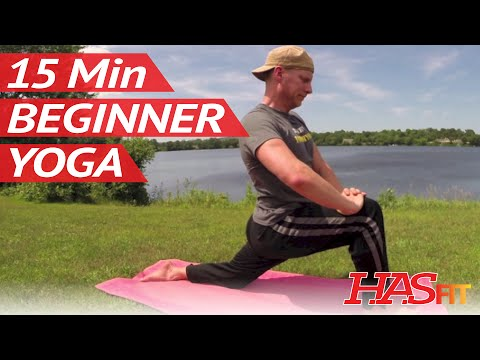 15 Min Yoga for Beginners w/ Sean Vigue – Beginner Yoga for Weight Loss, Strength, Flexibility