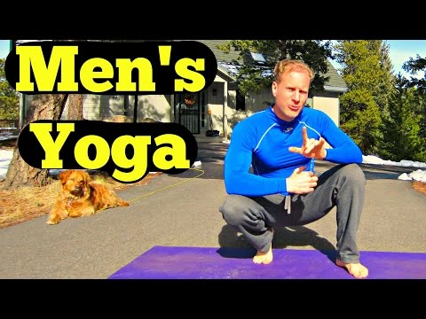 10 Min Yoga for Men Beginner Routine – Easy Men's Yoga Workout – Best Yoga Workout for Dudes