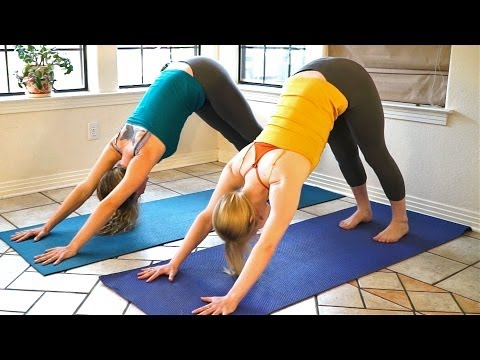Yoga For Complete Beginners – Relaxation & Flexibility Stretches 15 Minute Yoga Workout