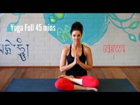 Yoga Vinyasa Strong Flow – Full 45 minutes – Advanced