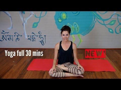 Yoga Vinyasa Strong Flow – 30 Mins