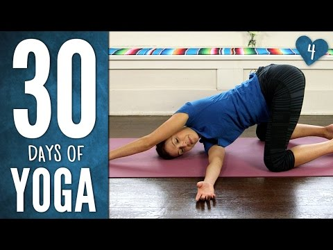 Yoga For Your Back – 30 Days of Yoga – Day 4