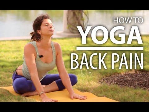 Yoga For Back Pain – 25 Minute Back & Neck Stretch. Beginners Yoga Flow