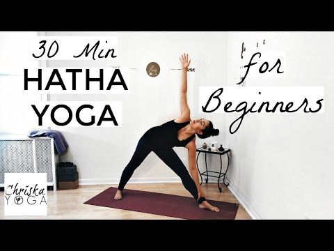 30 Min Hatha Yoga for Beginners – Gentle Beginners Yoga Class – Yoga Basics