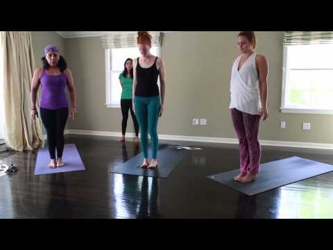 Ashtanga Yoga 45 – 60 minute home practice (Modified Half Primary)