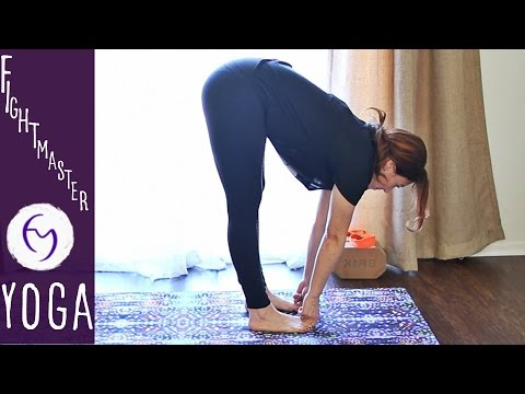 37 Min Ashtanga Yoga For Beginners With Fightmaster Yoga