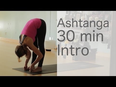 Yoga Body Workout: Free yoga class (Ashtanga 30 min intro class) With Fightmaster Yoga