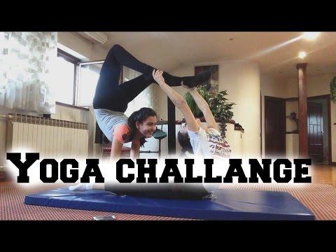 Yoga challange Nina i Mila Antonovic