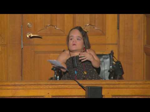Sexuality and Disability: Forging Identity in a World that Leaves You Out | Gaelynn Lea | TEDxYale