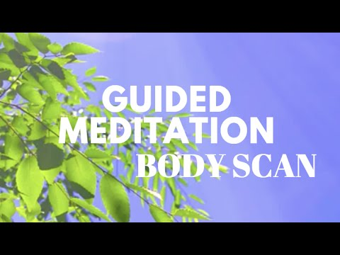 Guided Meditation Body Scan for Relaxation
