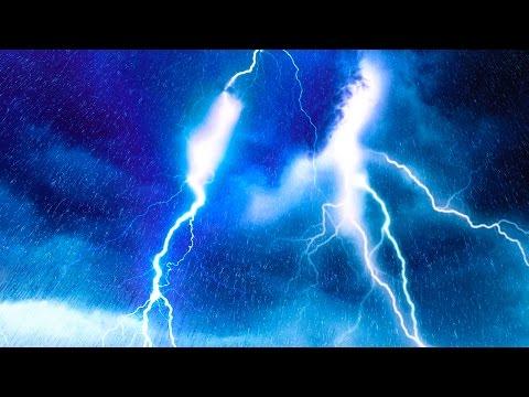 EPIC THUNDER & RAIN   Rainstorm Sounds For Relaxing, Focus or Sleep   White Noise 10 Hours