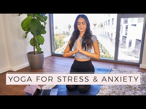 Yoga For Stress And Anxiety | Dr Mona Vand