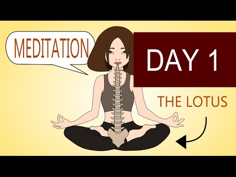 How to Meditate – Meditation for Beginners – Day 1