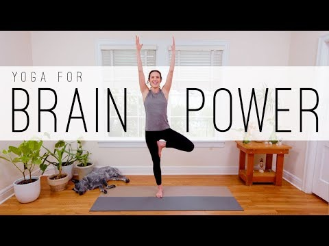 12 Min Yoga For Brain Power  |  Yoga With Adriene