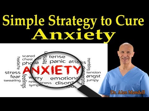 Simple Strategy to Cure Anxiety – Dr. Alan Mandell, DC
