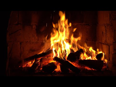 Instrumental Christmas Music with Fireplace 24/7 – Merry Christmas!