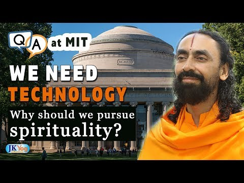 We Need Technology, Why should we Pursue Spirituality? | MIT Students Q/A with Swami Mukundananda