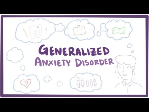 Generalized anxiety disorder (GAD) – causes, symptoms & treatment