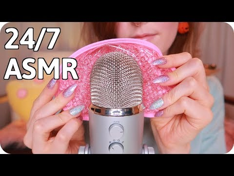 CaroLIVE 24/7 ASMR Stream for Tingles, Relaxation, and Sleep