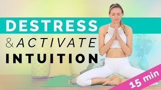 Kundalini Yoga Meditation: Decrease Stress & Activate Intuition (15-min)