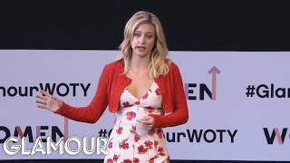 Lili Reinhart's Revealing Speech About Body Image | Glamour WOTY 2018