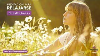 Meditación para relajarse profundamente